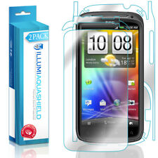 2x iLLumi AquaShield HD Front Screen + Back Panel Protector for HTC Sensation 4G