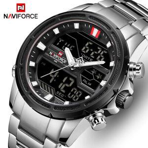New 2021 Men Luxury Brand Sport Quartz Waterproof Military Digital Wristwatch