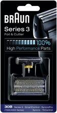 Braun Series 3 Ersatzscherfolie & -klinge 30B, neu vom Hersteller OVP Scherteil