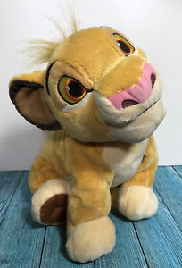 Disney Store Exclusive The Lion King Simba Plush Soft Toy