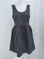 Princess Highway Black & White Polka Dot Dress Size 14 Cocktail Party Casual Fun