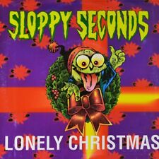 "7"" SLOPPY SECONDS Lonely Christmas Santa Claus Conquers Martians TAANG Punk 1992"