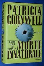 32813 Patricia Cornwell - Morte innaturale - Mondadori 1998 I ed.