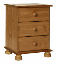 Pine 56cm-60cm Bedside Tables & Cabinets with 1 Drawer