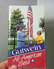 Farmers Pocket Memo Advertising Gutwein Seed Agriculture Vintage Book Farm