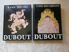 DUBOUT Kama Soutra Michèle Trinckvel Erotisme Humour + le code des impôts 1993