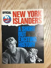 1976 New York Islanders Official Yearbook