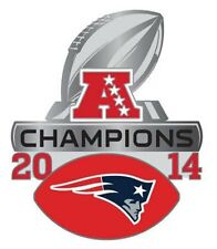 e6992022082 Official NFL 2014 AFC Champions New England Patriots Pin