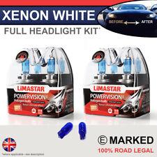 Fabia 15-on Xenon White Upgrade Kit Headlight Dipped High Side Bulbs 6000k