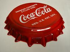 Ande Rooney Tin Sign - Coke Coca Cola Bottle Cap Die Cut  - New