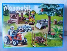 Playmobil 6814 Holzfäller mit Traktor Neu und OVP
