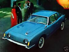 1963 Studebaker Avanti, BLUE, Refrigerator Magnet, 40 Mil