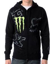 Fox Carmichael Monster Energy Mens Med Hoodie Sweatshirt Lined Sweater