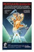 Meatcleaver Massacre Poster 01 Metal Sign A4 12x8 Aluminium