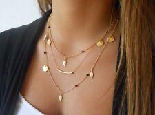 Fashion Charm Jewelry Pendant Chain Bohemian Choker Chunky Statement Necklace