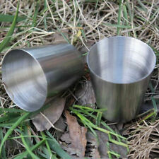 1/5/10stk 35ml Stainless Steel Cup Drinking Mug Cup Bag for Pro. I7Q3 Gift Y0Q9
