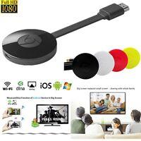 para Google Chromecast 2 WiFi HDMI TV Vídeo Medios Streamer para IOS & Android