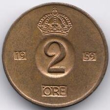 Sweden : 2 Öre 1959 TS