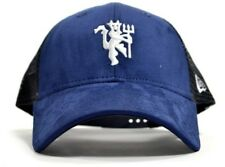 Manchester United Football Club Official Era Navy Fabric Mesh 9forty Cap Hat 1b37adfb1095