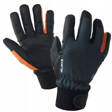 Winterwinddichte Isolierte Handschuhe Kunstleder Warmes Fleecefutter Guide 9-11