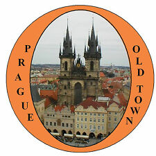 PRAGUE OLD TOWN - SOUVENIR NOVELTY FRIDGE MAGNET - SIGHTS - NEW - GIFT