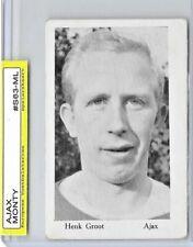 1963 Monty Gum HENK GROOT / AJAX AMSTERDAM / MEGA RARE CARD!