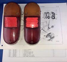 Innocenti Mini t traveller 1966–70 Coppia lenti con cattadiotro Altissimo usate