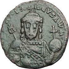 Romanus I Lecapenus 920AD Authentic Ancient Medieval Byzantine Coin i64905