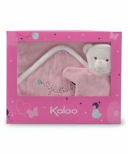 Kaloo 'Je T'aime' Bear Bath Towel & Wash Mitt