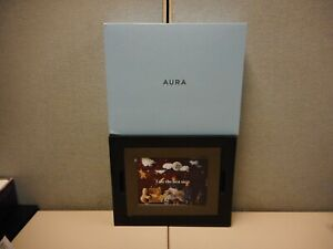 "AURA MASON 9"" DIGITAL PICTURE FRAME - GRAPHITE WI-FI LCD - BRAND NEW (AF200-GRP)"