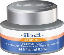 IBD UV Clear Builder Gel  - 14 g / .5 fl oz - Hard Gel 604000