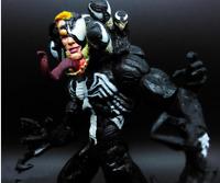 FIGURA VENOM : El Increible Spiderman SPIDER-MAND 2 MARVEL SELECT DST  21cm