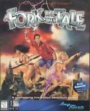 A Fork in the Tale PC CD stop plans of evil villain game starring Rob Schneider!