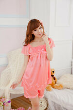 Birthday Gift Girl Woman Pajamas Set Cotton Blend Clothing Sleepwear & Robes New