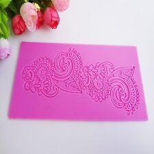 Silicone Mold Sugar Craft Fondant Cake Decorating Baking Pad - Lace 001