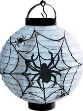 Halloween allumer del Papier Toile d'araignée Lanterne Noir Et Blanc