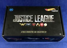 HOT WHEELS Justice League CHARACTER CAR COLLECTOR SET 6-Pack DC Flash BATMAN