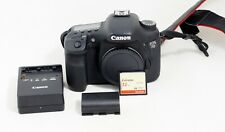 Canon EOS 7D 18.0MP Digital SLR DSLR Camera Body Only and Items Shown