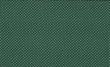 Makower Patchwork Fabric Spots on Forest Green - Per 1/4 Metre