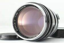 【MINT】Nippon Kogaku Nikon Nikkor P 10.5cm F 2.5 105mm S mount from JAPAN #179