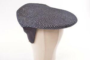 Doria Gruppo Borsalino NWT Wool Blend Made in Italy in Blues/White Sz 60, 7&1/2