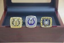 3 Pcs 1970 2006 2013 Indianapolis Colts Championship Ring //