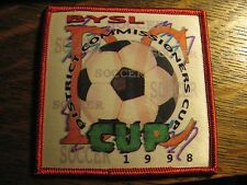 Brevard Youth Soccer League Rockledge Florida USA 1998 District Cup Jacket Patch