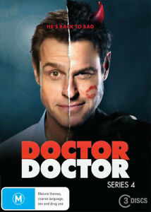 Doctor Doctor:  Series 4 (DVD, 3 Discs) Rodger Corser - Region 4 - New & Sealed