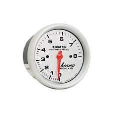Livorsi Boat Speedometer GPS180BKBKTattle Tale 3 3//8 Inch Black