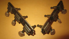 Vintage 1950's Single Line Guitar Tuners Tuning Machines Excellent Condition