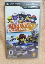 NEW FACTORY SEALED PSP VIDEO GAME: MODNATION RACERS SONY 2010