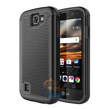 Hybrid Rubber Case Cover for LG Optimus Zone 3 / K4 / Spree / LG Rebel LTE / K3