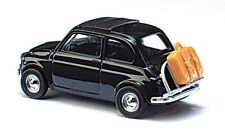 Fiat 500 On Tour H0 Scale 1:87 Diorama Model BUSCH