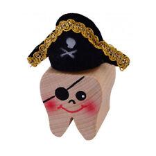 """Kersa 42030 Boîte à Dents """" Pirate Carlos """" en Bois pour de Lait Neuf !#"""